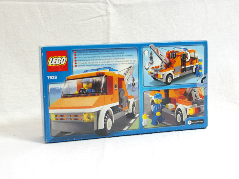 LEGO City Tow Truck Set #7638