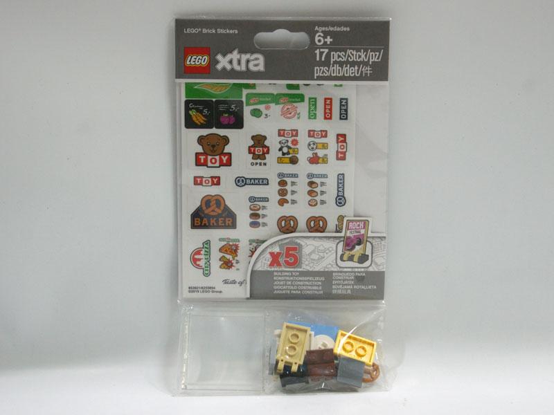 #853921 レゴ ブロックステッカー