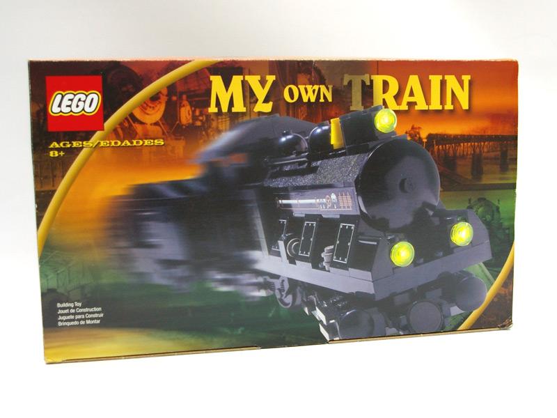 #KT207 レゴ 蒸気機関車(グレーセット)